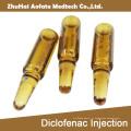 Injection de Diclofenac 5ml