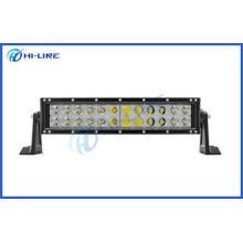 Off Road 72W Curved LED Light Bar Car Lighting Bar for Vehi
