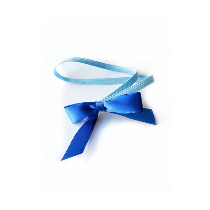 Ribbon Bow With Flat Elastic