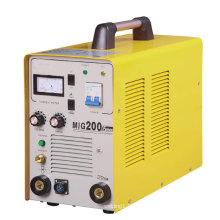 Máquina de soldadura de escudo de CO2 en MIG200fs para la industria pesada