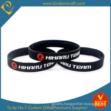 Customized Logo Wholesale Sports Silicone Wristband From China