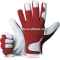 Comfy Slim-Fit Leather Work Gloves Gardener Gloves- Ideal Gift for Men,Women(Feminine/Ladies) at Anniversary, Christmas