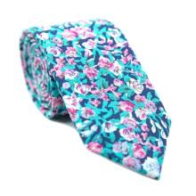 Großhandel Skinny Baumwolle Hochzeit Krawatten