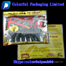 Strike King bait packaging bag with zipper