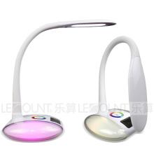 Lâmpada de mesa LED com RGB colorido mágico