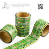 Coconut candy food packaging roll film