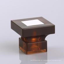 Tampão de garrafa de perfume de alumínio quadrado disponível do OEM