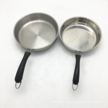Cheap price Long Handle Fry Pan Stainless Steel Oil Free Fry Pan