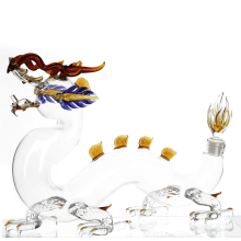 Dragon shaped The Wine Whiskey and Bourbon Decanter
