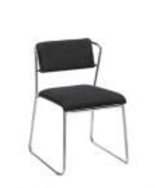 Modern  Metal Stackable Chair with Backs