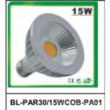 15W Nicht-Dimmbare PAR30 COB LED-Strahler
