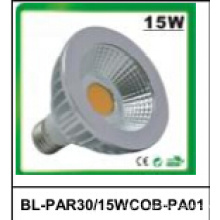 15W Non-Dimmable PAR30 COB LED Spotlight