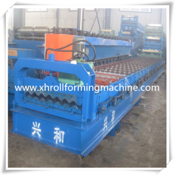 Metal Corrugated Glazed Panel Cold Roll Forming Machine