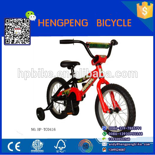 2018 hot selling stickers spiderman buy children bike /royal baby bicycle from china kids bike manufacturer