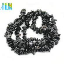 Gemstone Natural Black Obsidian Chips Beads