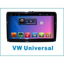 Android System Auto GPS für VW Universal 9 Zoll Touchscreen mit Auto DVD Player