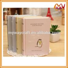 Caderno clássico clássico de capa dura, caderno chinês para presentes baratos em massa