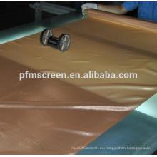 red de malla metálica de cobre