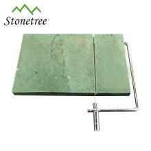 Quadratische Schiefer-Käseplatte aus Naturstein