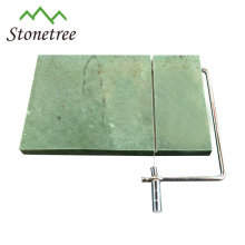 High quality natural stone square slate cheese board