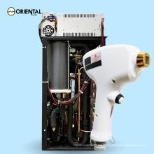 El sistema de depilación 808 y 755nm se combina con la depilación permanente de 755nm, 808nm, 1064nm mediante láser