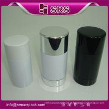 Shengruisi Embalagem de alta qualidade rodada plástico recipiente desodorante vara