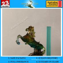 6.38-42.3mm Vidro laminado PVB com cinza escuro com AS / NZS2208