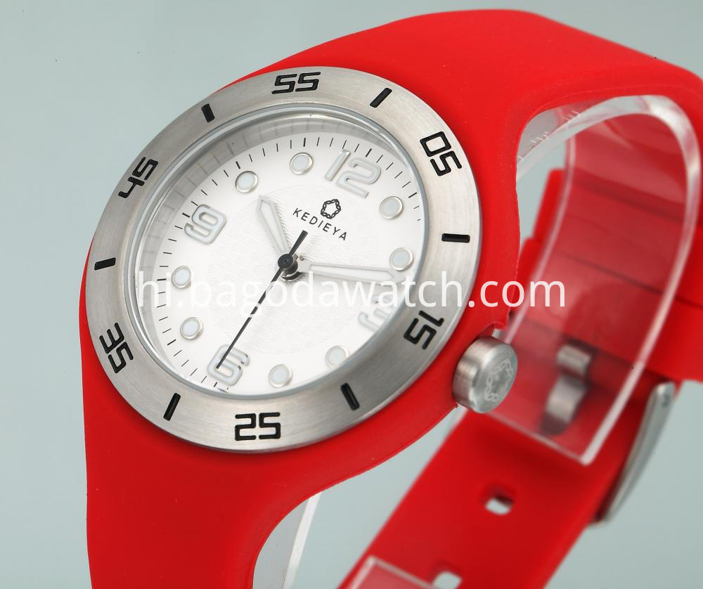 Women S Rubber Strap Watches
