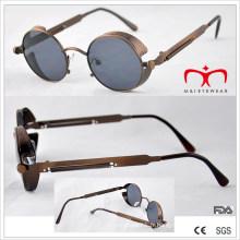 Lunettes de soleil à lunette ronde rétro design spécial (MI213)