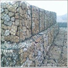 Gabão Revestido de PVC para o Muro de Retenção