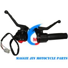 Piezas de motocicleta Interruptor de manija de motocicleta Pgt 103 Eléctrico