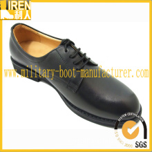 Black Men Military Officer Shoes