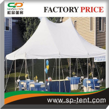 Factory Sale Waterproof and UV against outdoor wedding party one pole tents Steel Tent Pegs 40feet x 40feet