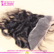 Wholesale price top quality brazilian human hair ear to ear lace frontal pieces