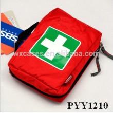 maleta médica de alta qualidade tamanhos médio com multi bolsos dentro