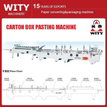 Carton Box Folding and Gluing Machine