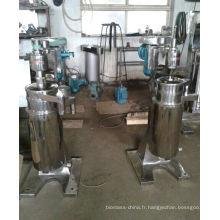 Gf105 Type centrifugeuse tubulaire d'huile de noix de coco