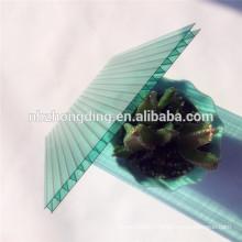 brillant coloré feuille de sol en polycarbonate / feuille de soleil en polycarbonate en cristal / feuille de soleil en polycarbonate givré