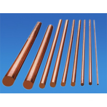 Barre de cuivre et tige avec du matériau standard