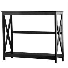 Buy Console Table with Shelves Design