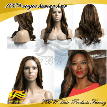 High Quality African American Human Braided Lace Wig