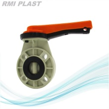 PPH Butterfly Valve For Industrial Chemical