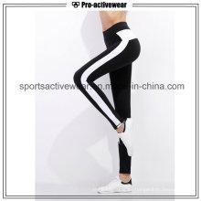 OEM 2016 nuevo diseño de fitness personalizado de secado rápido yoga pantalones para las mujeres