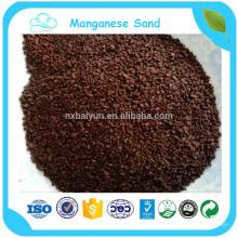 MnO2: 35% de sable de manganèse