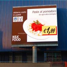 Tablero de exhibiciones de vallas publicitarias LED digitales