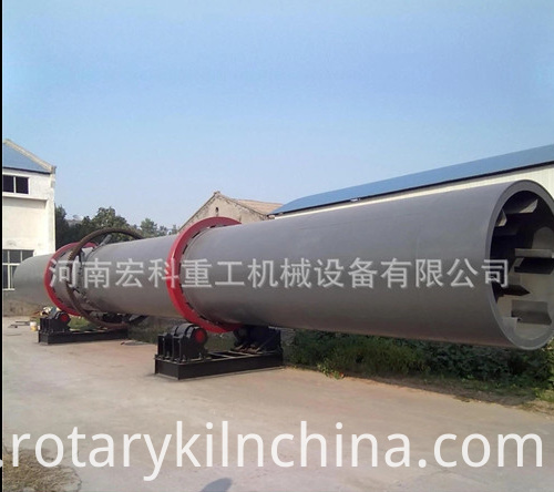 Energy saving rotary dryer