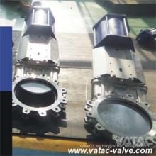 ANSI Class150 # Stainless Steel Lug Knife Gate Valve Fabricante