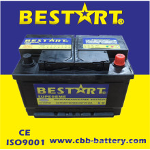 12V66ah neue Auto-Autobatterien für Selbstfahrzeug-Anfang