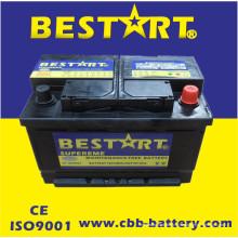 12V66ah nouvelles batteries de voiture d'automobile pour le début automatique de véhicule
