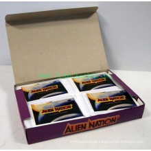 Luxus-Display-Karton Verpackung Geschenkpapier Gürtel Box